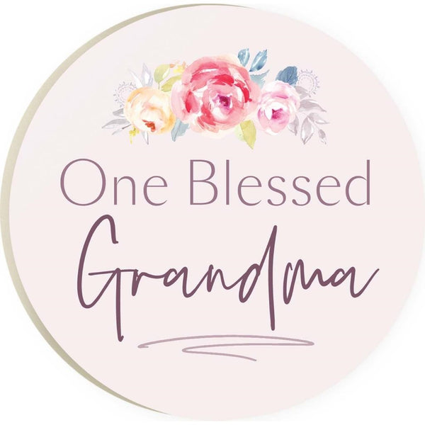 One Blessed Grandma Coaster