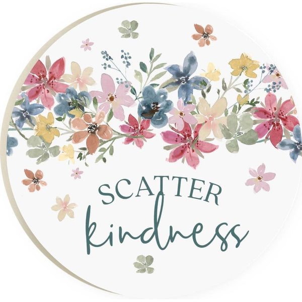Scatter Kindness Coaster