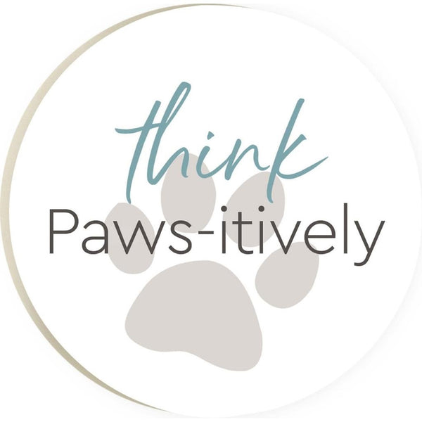 Think Paws-itively Coaster