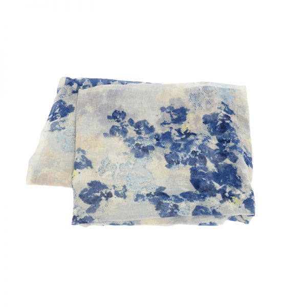 Dry Brush Floral Scarf