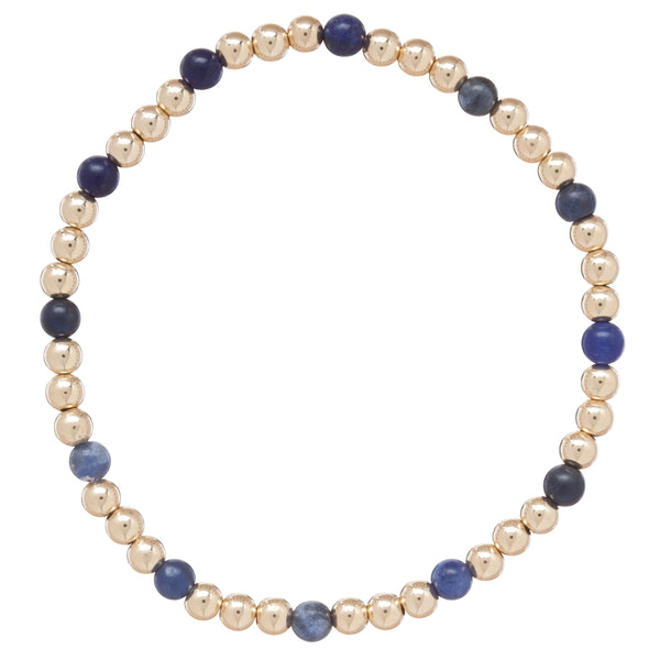 enewton Gold Sincerity 4mm Beaded Bracelet