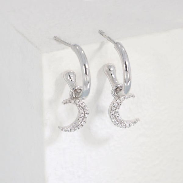 Ella Stein Fly Me to the Moon Earrings