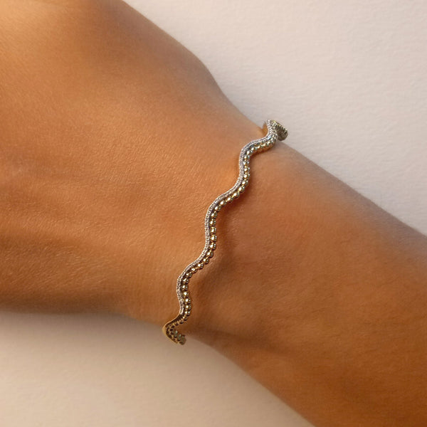 Ella Stein Goes in Waves Bracelet