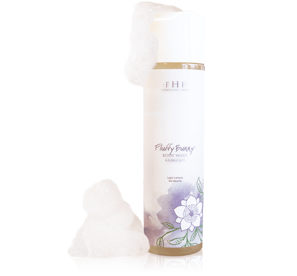 Fluffy Bunny Body Wash/Buble Bath