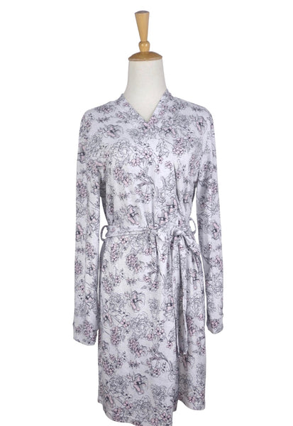 Gray Grace Robe