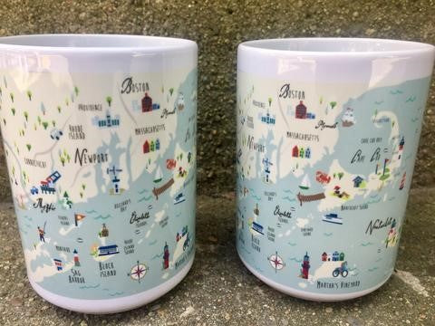 Northern Shores Ceramic Mug