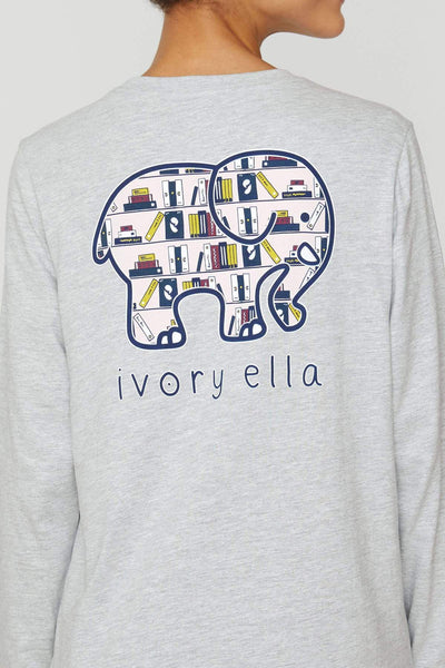 Ivory Ella Good Book Long Sleeve T
