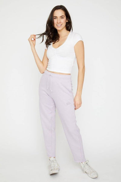 Ivory Ella French Terry Sweatpants Amethyst