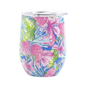 Lilly Pulitzer Stemless Wine Swizzle In
