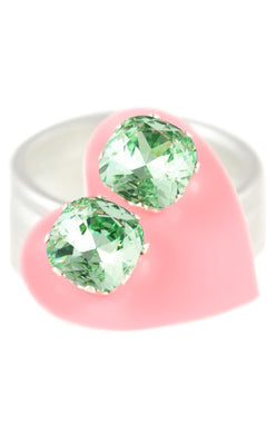 JoJo Cushion Cut Bling Mint