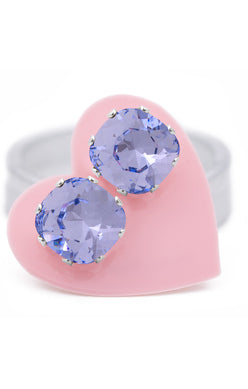 JoJo Cushion Cut Bling Provence Lavender