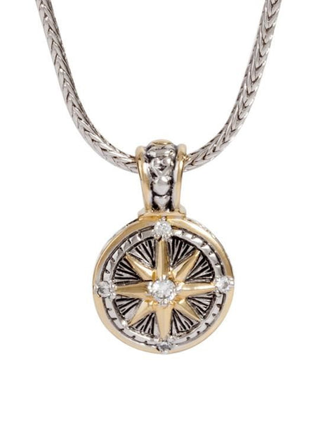 John Medeiros Little Inspirations Compass Necklace