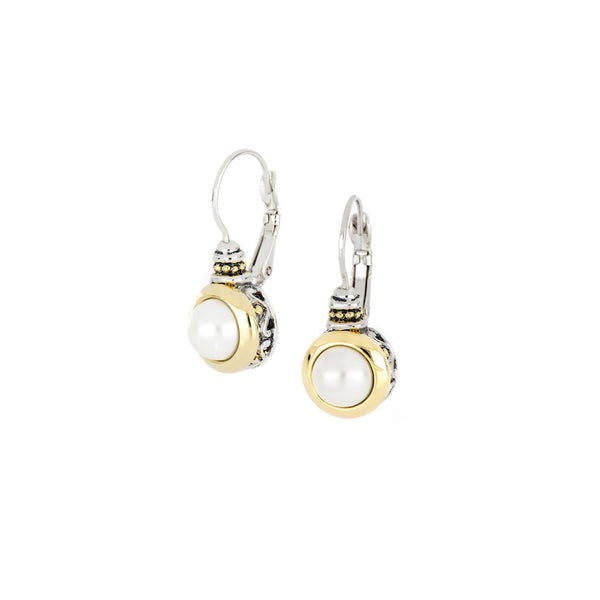John Medeiros Perola Pearl Earrings