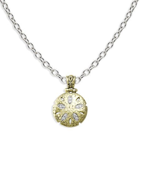 John Medeiros  Sand Dollar Necklace