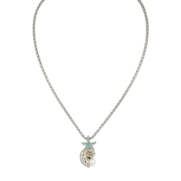 John Medeiros Nautilus Shell Necklace