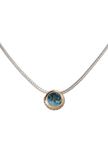 John Medeiros Solitaire Necklace