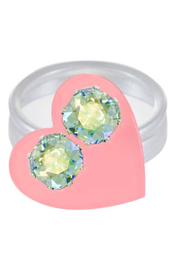 JoJo Cushion Cut Bling Earrings Empower-mint