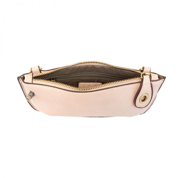 Joy Susan Mini Crossbody Wristlet Egg Shell Pink