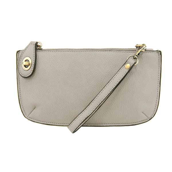 Joy Susan Mini Crossbody Wristlet Grey