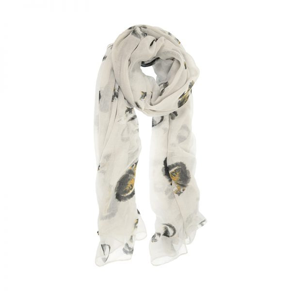 Pretty Kitty Scarf-Dove