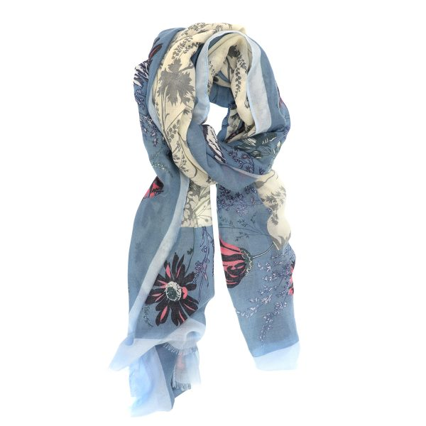 Light Denim Spring Ahead Scarf