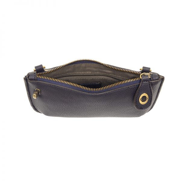 Joy Susan Mini Crossbody Wristlet New Navy