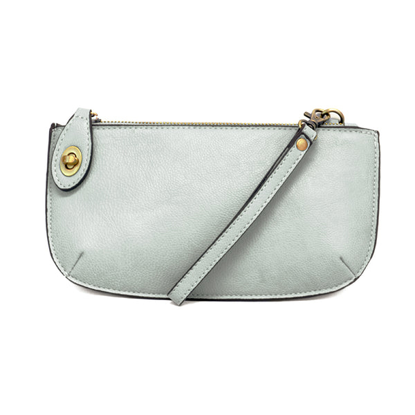 Joy Susan Mini Crossbody Wristlet Pale Blue