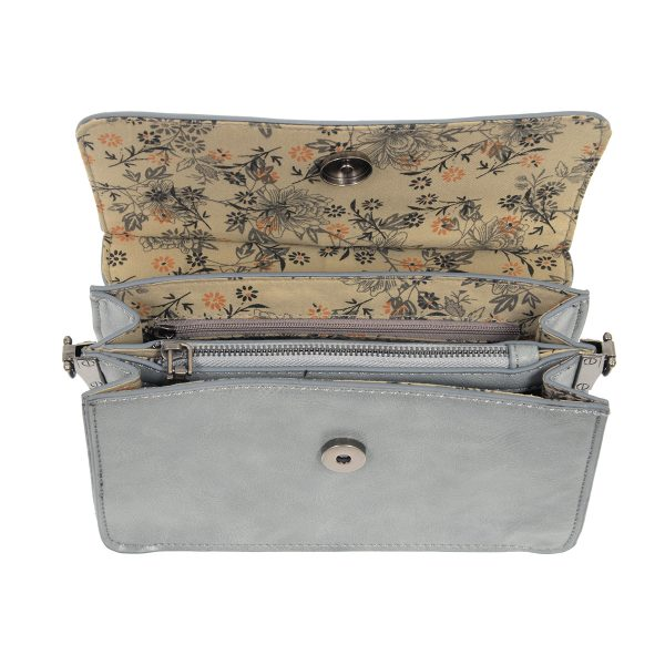 Joy Susan Aria Ring Bag Chambray
