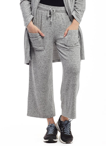 Comfort Collection Capri Pant Grey