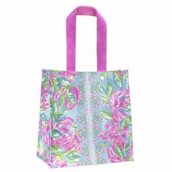 Lilly Pulitzer Market Tote Totally Blossom