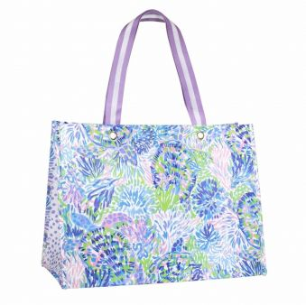 Lilly Pulitzer XL Tote Shell Party
