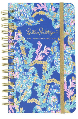 2021 Lilly Pulitzer 17 Month Medium Agenda, Turtle Villa