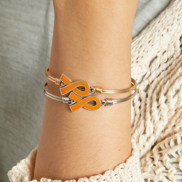 Luca + Danni - Leukemia Awareness Bangle Bracelet