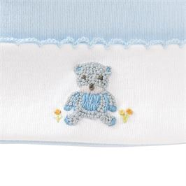 Blue Bear Baby Hat