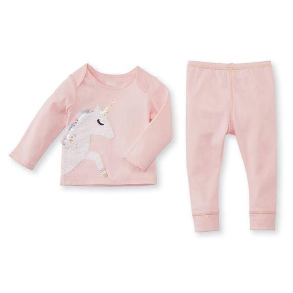 Pink Unicorn 2 Piece Set