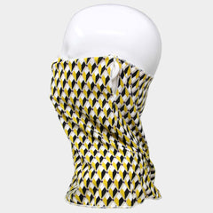 Mustard Diamond Adult Face Scarf