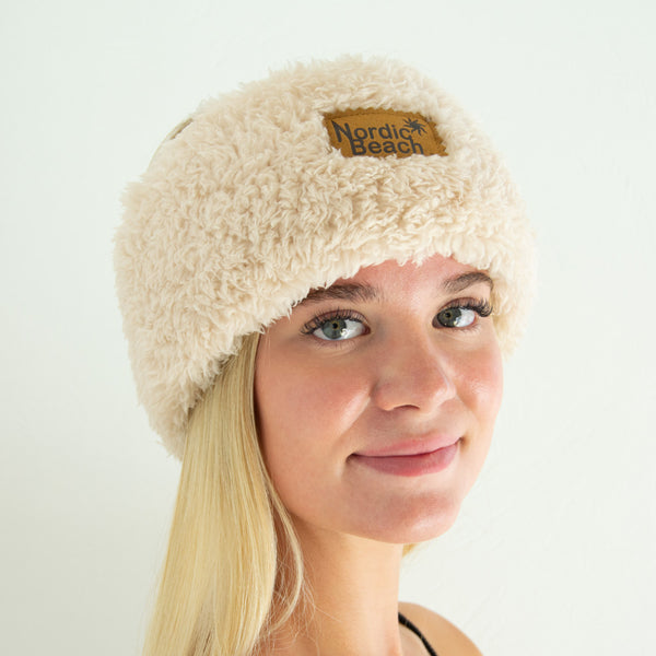 Nordic Beach Head Wrap Fluffy Frappe