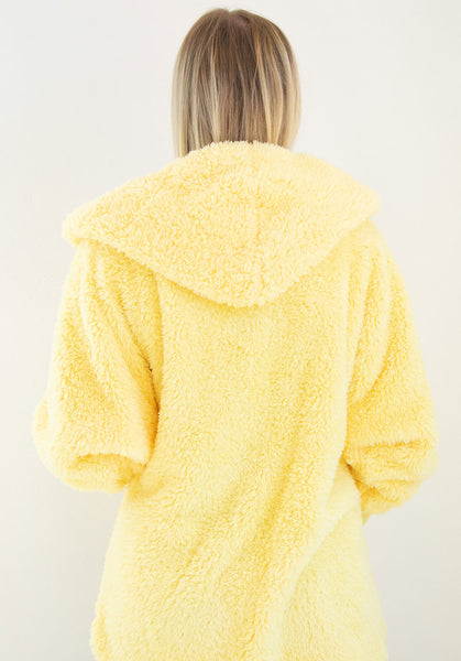 Nordic Beach Wrap Cardigan Lemon Drop
