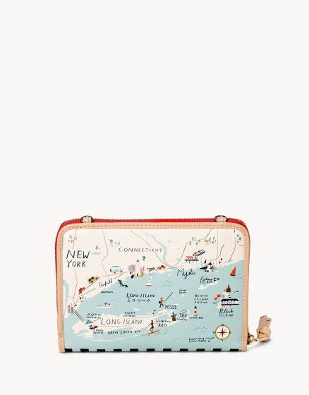 Spartina Northeastern Harbor All-in-One Phone Crossbody