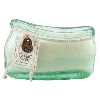 Northern Lights Candle Coconut Husk 14 oz