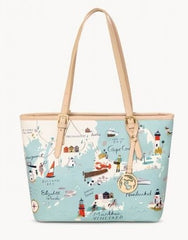Spartina Northeastern Harbor Small Tote