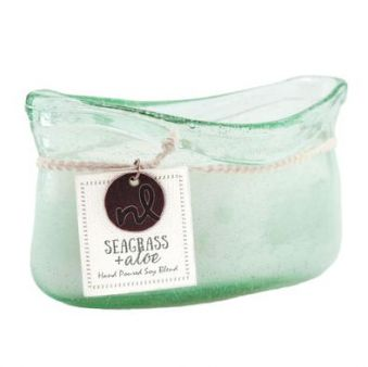 Northern Lights Candle Seagrass & Aloe 14 oz