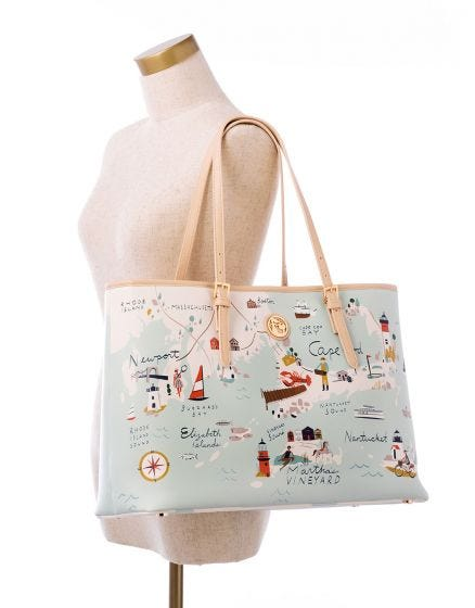 Spartina Northeastern Harbor Tote