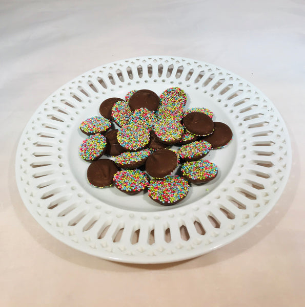 Chocolate Nonpareils - 8 oz bag