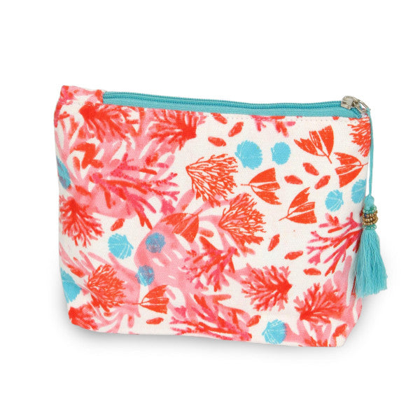 Coral Travel Pouch
