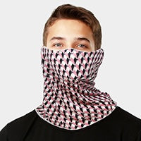 Pink Diamond Adult Face Scarf