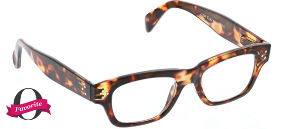 Peepers Dauntless Reading Glasses Tortoise