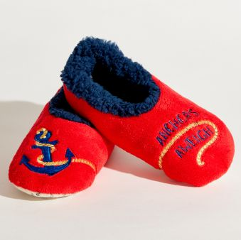 Anchors Aweigh Slippers