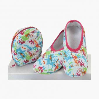 Paint Splatter Skinnies Slippers