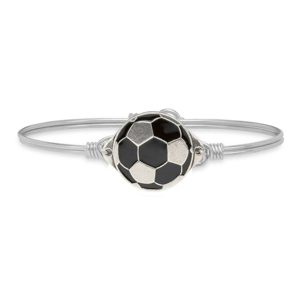 Luca & Danni Soccer Ball Bangle Bracelet